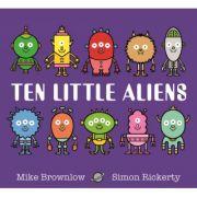 Ten Little Aliens - Mike Brownlow