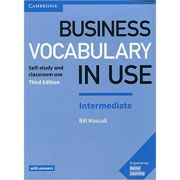 Business Vocabulary in Use: Intermediate Book with Answers: Self-Study and Classroom Use - Bill Mascull