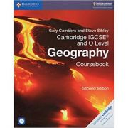 Cambridge IGCSE® and O Level Geography Coursebook with CD-ROM - Gary Cambers, Steve Sibley