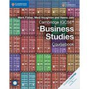 Cambridge IGCSE® Business Studies Coursebook with CD-ROM - Mark Fisher, Medi Houghton, Veenu Jain
