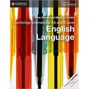 Cambridge International AS and A Level English Language Coursebook - Mike Gould, Marilyn Rankin