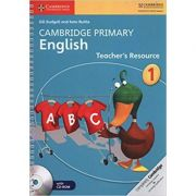 Cambridge Primary English Stage 1 Teacher's Resource Book with CD-ROM - Gill Budgell, Kate Ruttle