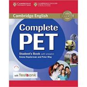 Complete PET Student's Book with Answers with CD-ROM and Testbank - Emma Heyderman, Peter May