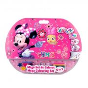 Mega set de colorat 5 in 1 Minnie (MIE1907)