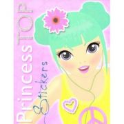 Princess TOP Stickers. Galben