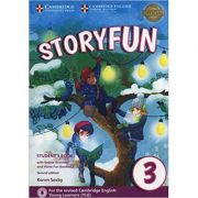 Storyfun for Movers Level 3 Student's Book with Online Activities and Home Fun Booklet 3 - Karen Saxby