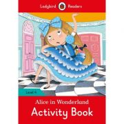 Alice In Wonderland Activity Book