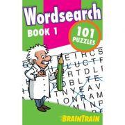 BrainTrain. Wordsearch 101 Puzzles. Book 1
