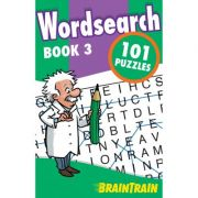 BrainTrain. Wordsearch 101 Puzzles. Book 3