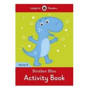 Brother Blue activity book