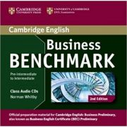 Business Benchmark Pre-intermediate to Intermediate Business Preliminary Class Audio CDs (2) - Norman Whitby
