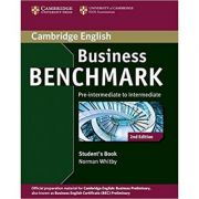 Business Benchmark Pre-intermediate to Intermediate Business Preliminary Student's Book - Norman Whitby