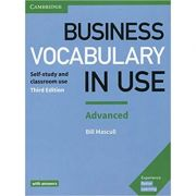Business Vocabulary in Use: Advanced Book with Answers - Bill Mascull