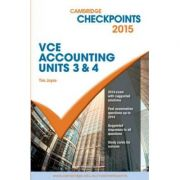 Cambridge Checkpoints VCE Accounting Units 3&4 2015 and Quiz Me More - Tim Joyce