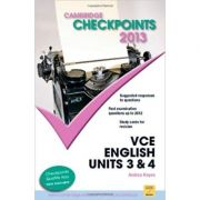 Cambridge Checkpoints VCE English Units 3 and 4 2013 - Andrea Hayes