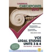 Cambridge Checkpoints VCE Legal Studies Units 3 and 4 2013 - Peter Mountford, Carolyn Walker