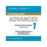 Cambridge English Advanced 1 for Revised Exam from 2015 Audio CDs (2): Authentic Examination Papers from Cambridge English Language Assessment