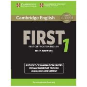 Cambridge English First 1 for Revised Exam from 2015 Student's Book with Answers: Authentic Examination Papers from Cambridge English Language Assessment