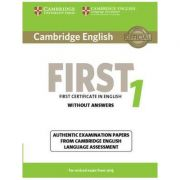 Cambridge English First 1 for Revised Exam from 2015 Student's Book without Answers: Authentic Examination Papers from Cambridge English Language Assessment