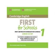 Cambridge English First for Schools 1 for Revised Exam from 2015 Audio CDs (2): Authentic Examination Papers from Cambridge English Language Assessment