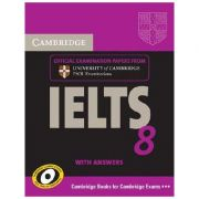 Cambridge: IELTS 8 - Self-study Pack (Student's Book with Answers and Audio 2x CDs)