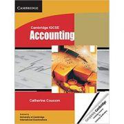Cambridge IGCSE Accounting Student's Book - Catherine Coucom