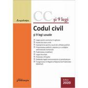 Codul civil si 9 legi uzuale. Actualizat 14 ianuarie 2020