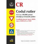 Codul rutier. Editia a 8‐a actualizata la 1 noiembrie 2019