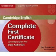 Complete First Certificate for Spanish Speakers Class Audio CDs (3) - Guy Brook-Hart, Debbie Owen