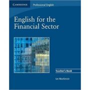 English for the Financial Sector Teacher's Book - Ian MacKenzie