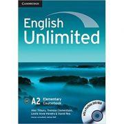 English Unlimited Elementary Coursebook with e-Portfolio - Alex Tilbury, Theresa Clementson, Leslie Anne Hendra, David Rea, Adrian Doff