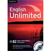 English Unlimited Upper Intermediate Coursebook with e-Portfolio - Alex Tilbury, Leslie Anne Hendra, David Rea, Theresa Clementson