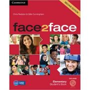 face2face Elementary Student's Book with DVD-ROM - Chris Redston, Gillie Cunningham