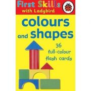 First Skills colours and shapes flash cards - Angie Sage