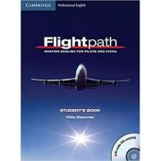 Flightpath: Aviation English for Pilots and ATCOs Student's Book with Audio CDs (3) and DVD - Philip Shawcross
