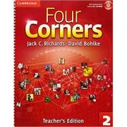Four Corners Level 2 Teacher's Edition with Assessment Audio CD/CD-ROM - Jack C. Richards, David Bohlke