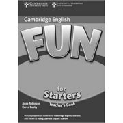 Fun for Starters Teacher's Book - Anne Robinson, Karen Saxby