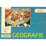 Geografie. Caiet de lucru pentru clasa a VI-a - Nicoleta Beliciu, Mihaela Dima