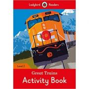 Great Trains Activity Book