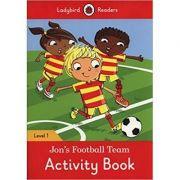 Jon's Football Team Activity Book