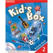 Kid's Box Level 2 Activity Book with CD-ROM - Caroline Nixon, Michael Tomlinson