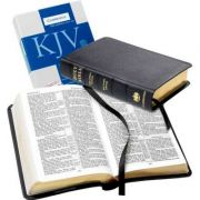 KJV Personal Concord Reference Edition KJ463: XR black French Morocco