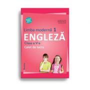 Limba moderna 1. Engleza, clasa a V-a. Caiet de lucru - Liliana Putinei, Cristina Mircea