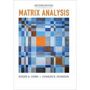 Matrix Analysis - Roger A. Horn, Charles R. Johnson