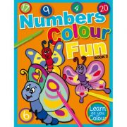 Numbers Colour Fun Book 2. Learn as you Colour series
