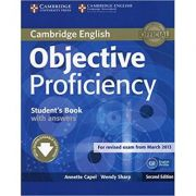 Objective Proficiency Student's Book with Answers with Downloadable Software - Annette Capel, Wendy Sharp