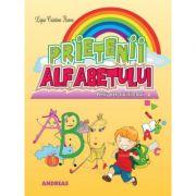 Prietenii alfabetului. Carte cu poezii pentru cei mici editie ilustrata - Ligia Crisitna Florea