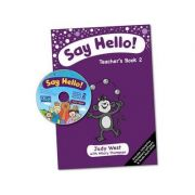 Say Hello Teacher's Book with Multi-ROM Level 2 - Judy West