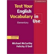 Test Your English Vocabulary in Use Elementary with Answers - Michael McCarthy, Felicity O'Dell