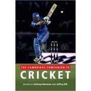 The Cambridge Companion to Cricket - Anthony Bateman, Jeffrey Hill